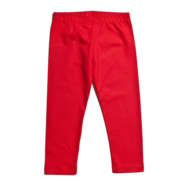 Baby Leggings - Solid Red