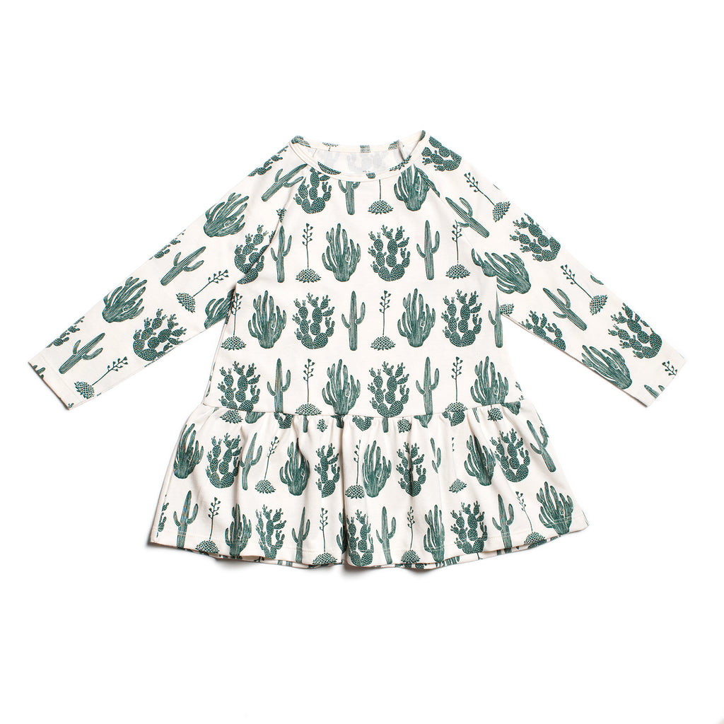 Chicago Dress - Cactus Green