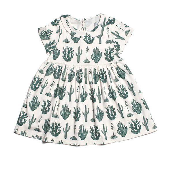 Chelsea Dress - Cactus Green