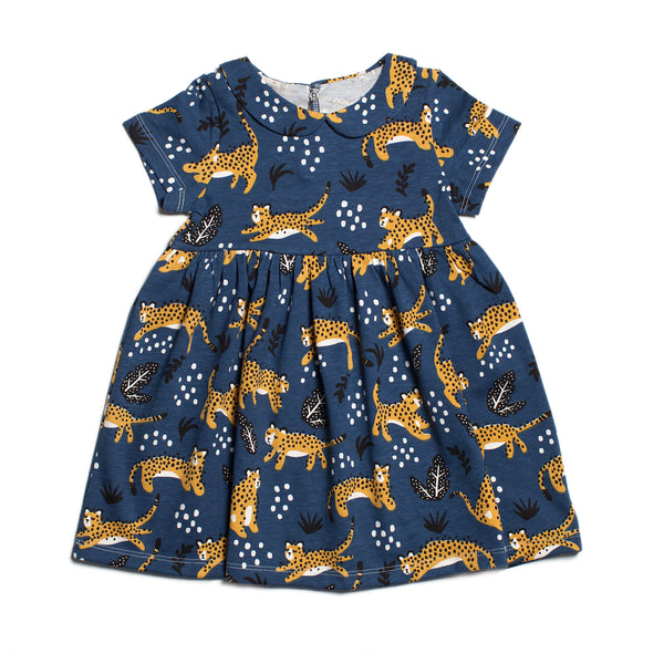 Chelsea Dress - Wildcats Navy