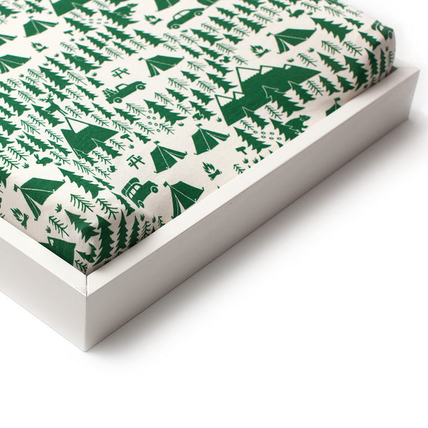 Changing Pad Cover - Campground Green