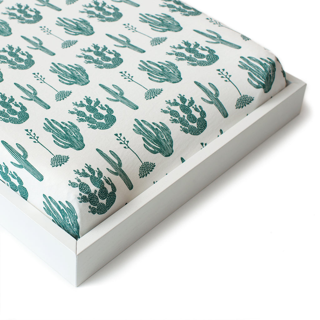 Changing Pad Cover - Cactus Green