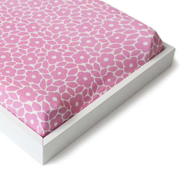 Changing Pad Cover - Marrakesh Dusty Rose
