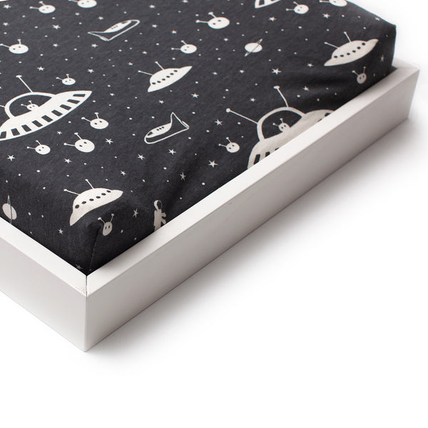 Changing Pad Cover - Outer Space Charcoal