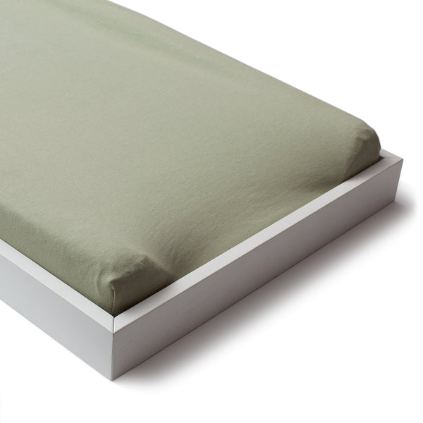 Changing Pad Cover - Solid Sage