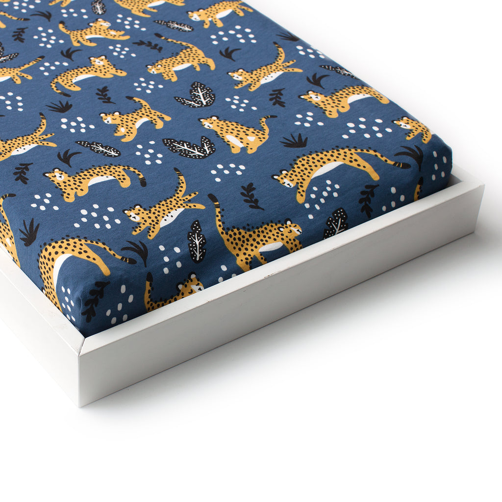 Changing Pad Cover - Wildcats Navy