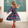 Calgary Dress - Hearts Red & Pink