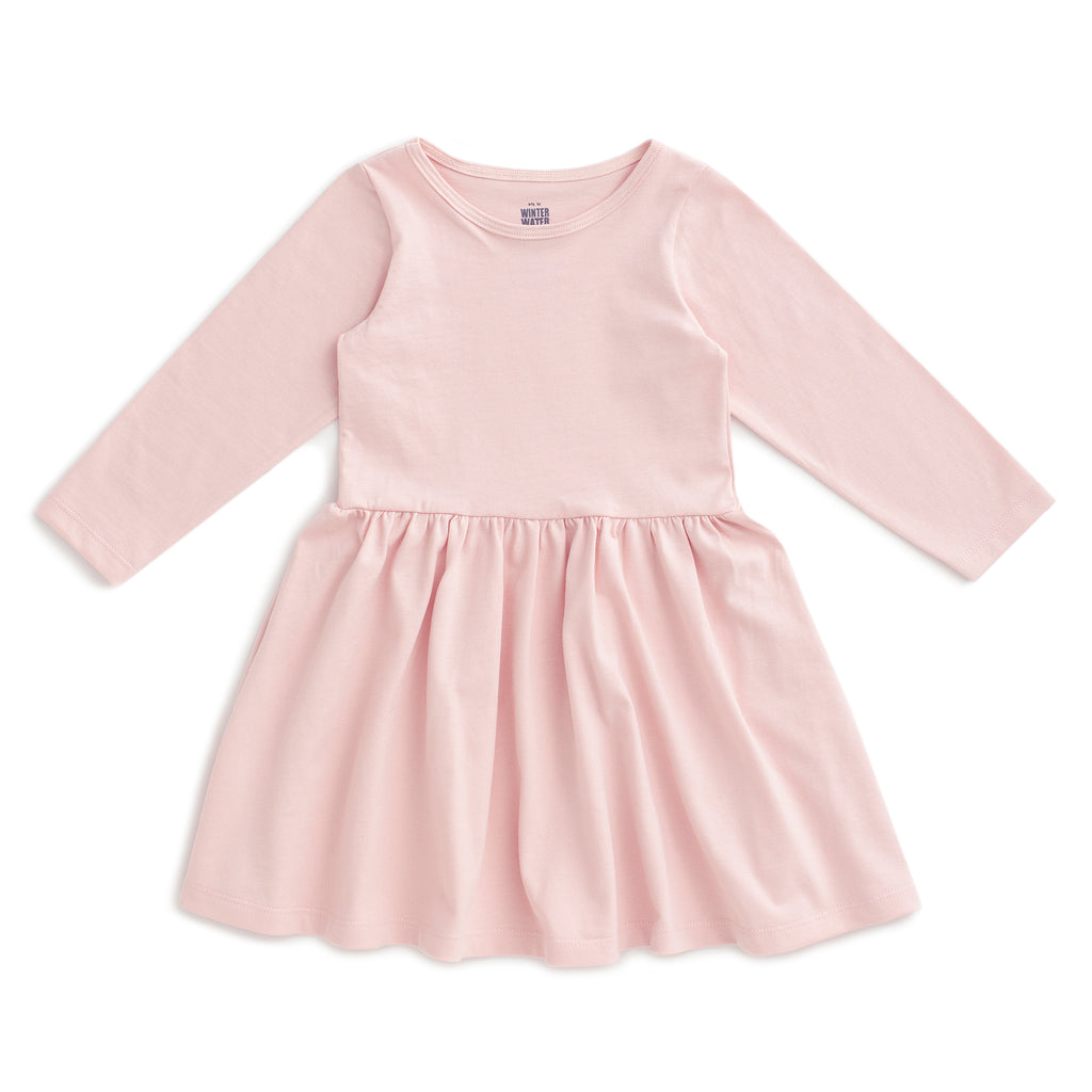Calgary Dress - Solid Pink