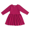 Calgary Dress - Solid Plum