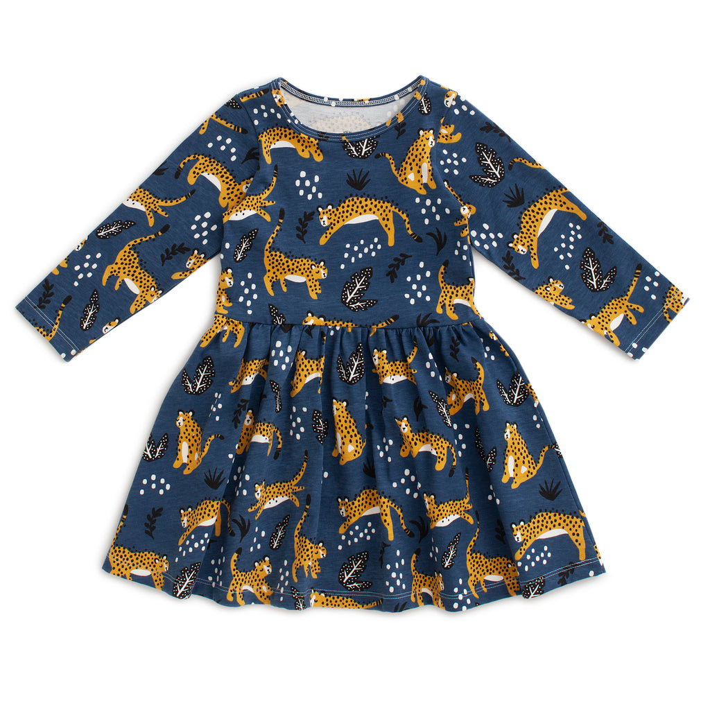 Calgary Dress - Wildcats Navy