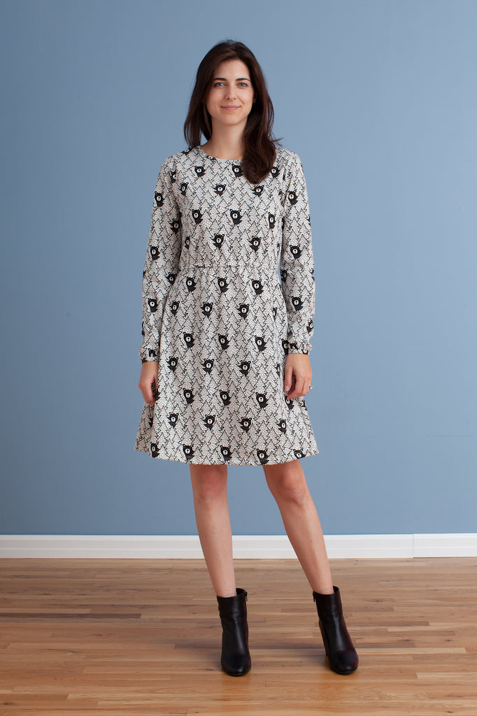 Women's Cambridge Dress - Bears Black