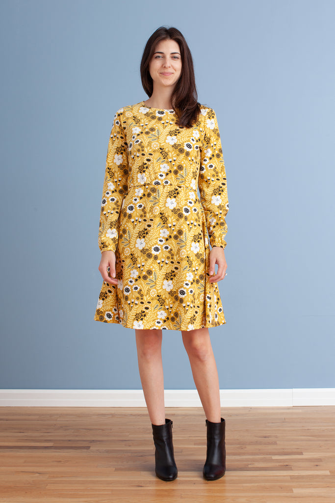 Women's Cambridge Dress - Wildflowers Yellow