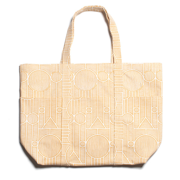 Large Canvas Tote - Vienna Yellow