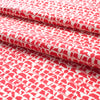 Belgian Linen - Corrugated Red