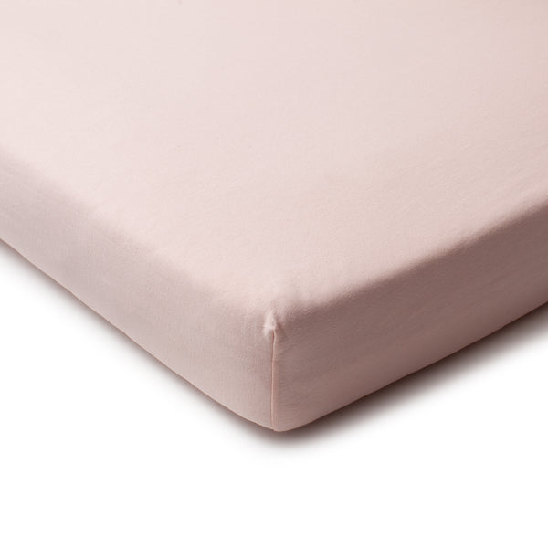 Fitted Crib Sheet - Solid Pink