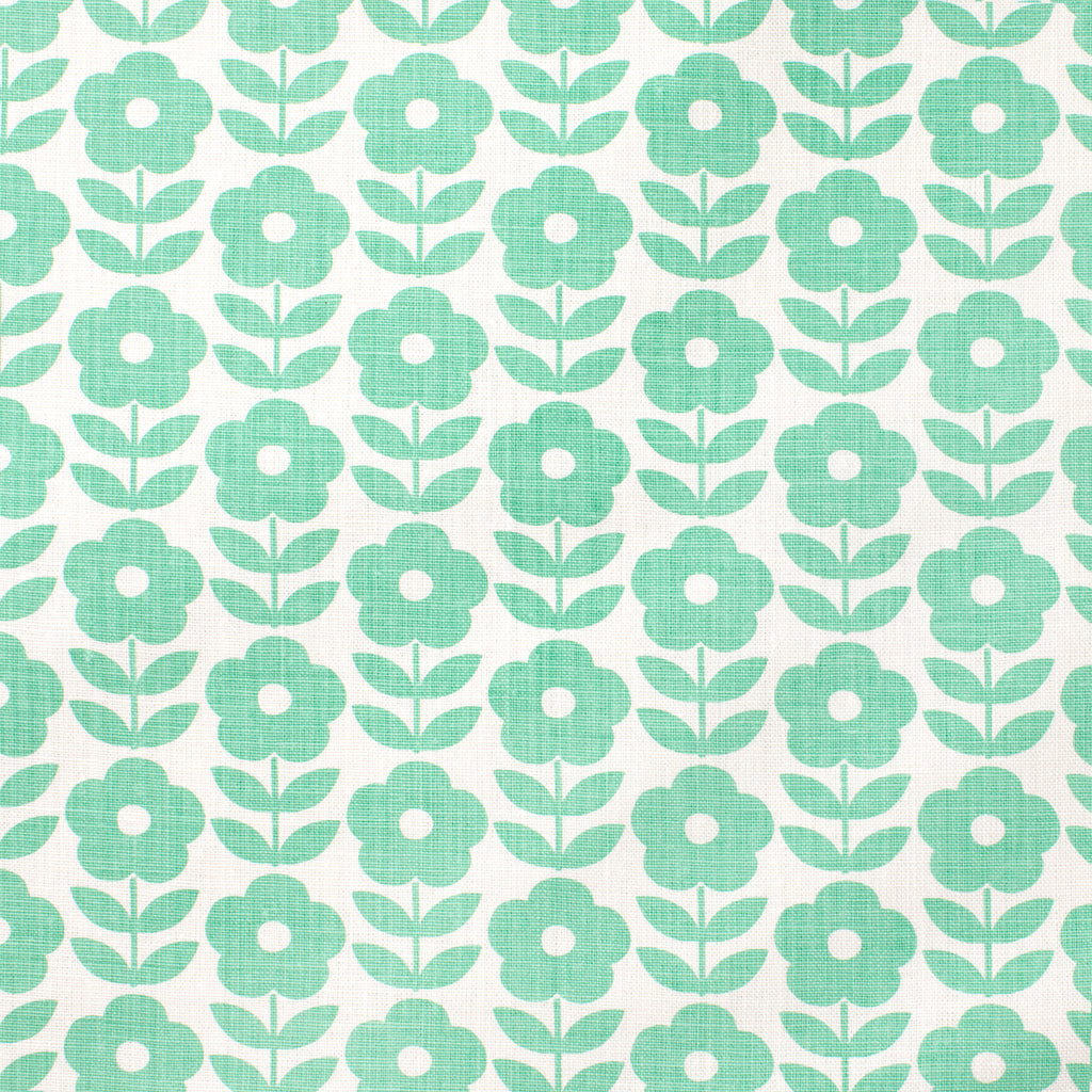 Belgian Linen - Danish Flowers Mint