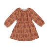 Emerson Dress - Cactus Caramel