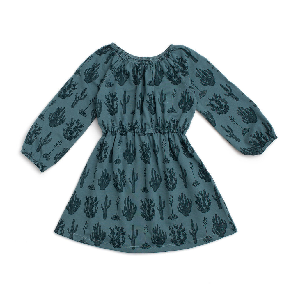 Emerson Dress - Cactus Teal