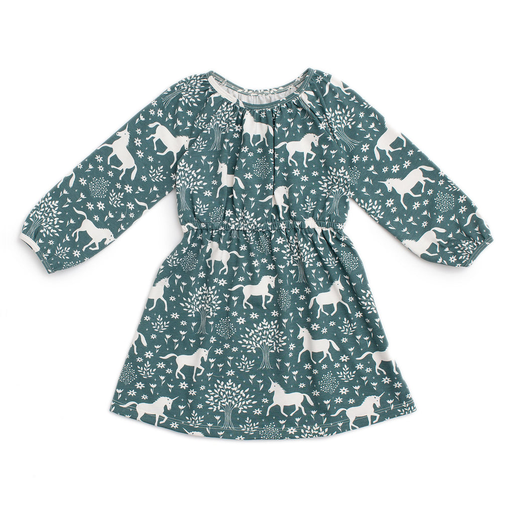Emerson Dress - Magical Forest Teal