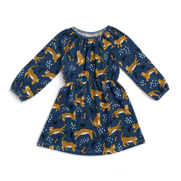 Emerson Dress - Wildcats Navy