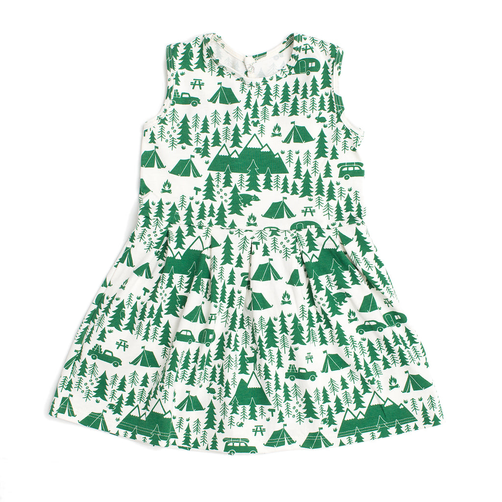 Essex Dress - Campground Green