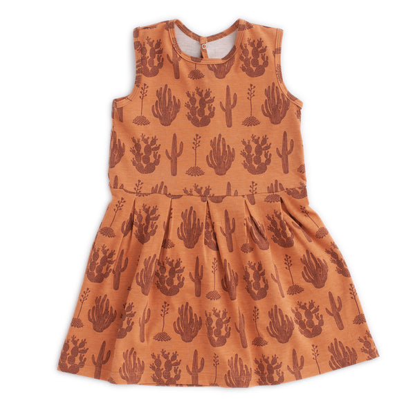 Essex Dress - Cactus Caramel