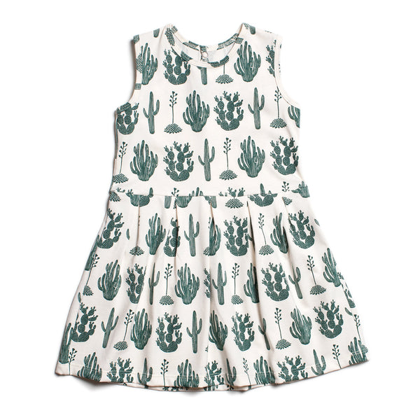 Essex Dress - Cactus Green