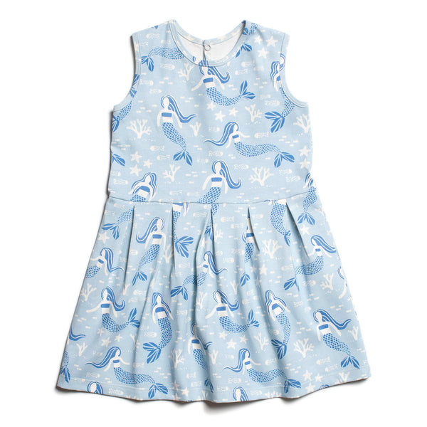 Essex Dress - Mermaids Blue