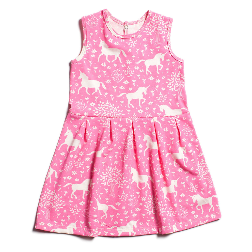 Essex Dress - Magical Forest Pink