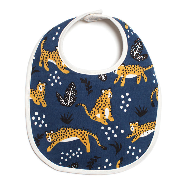 French Terry Bib - Wildcats Navy