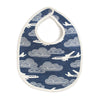 French Terry Bib - In The Clouds Navy