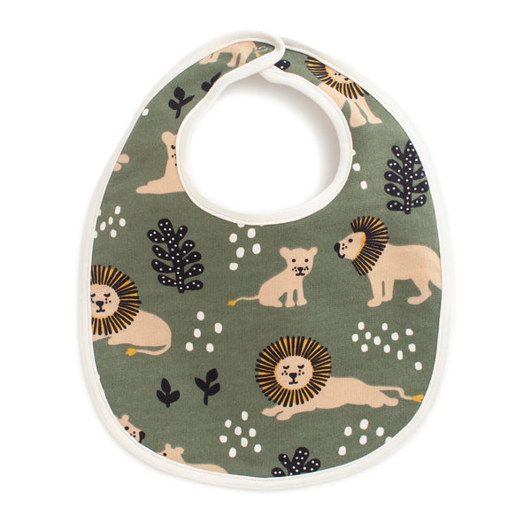 French Terry Bib - Lions Forest Green