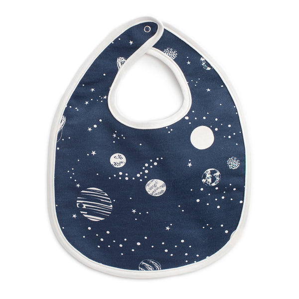 French Terry Bib - Planets Night Sky