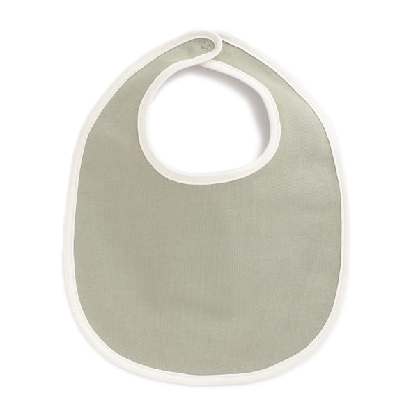 French Terry Bib - Solid Sage