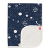 French Terry Blanket - Planets Night Sky