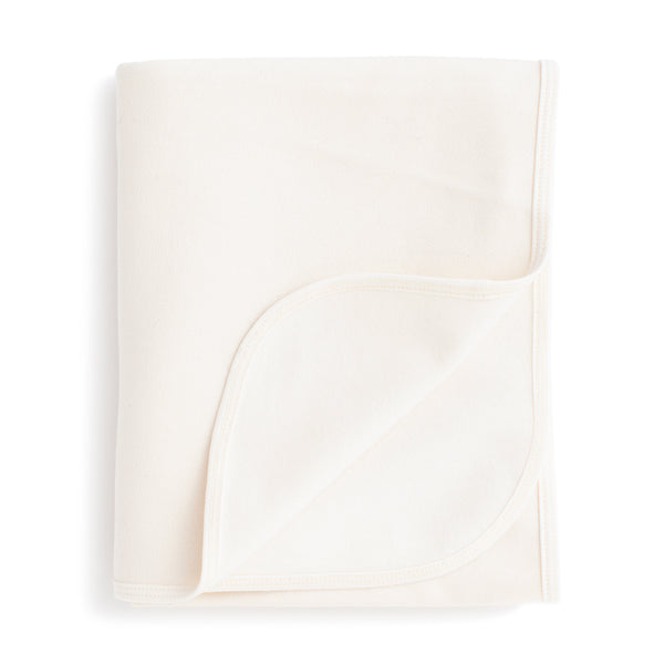 French Terry Blanket - Solid Natural