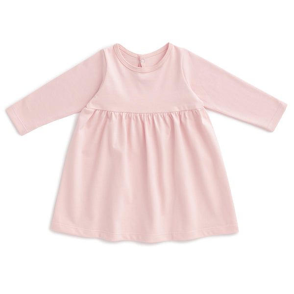 Geneva Baby Dress - Solid Pink
