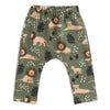 Harem Pants - Lions Forest Green