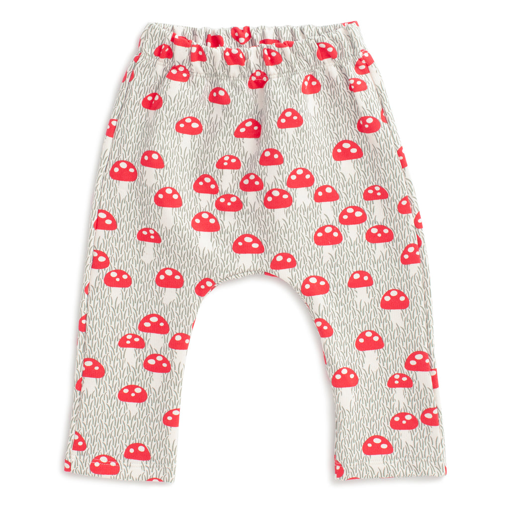 Harem Pants - Mushrooms Sage