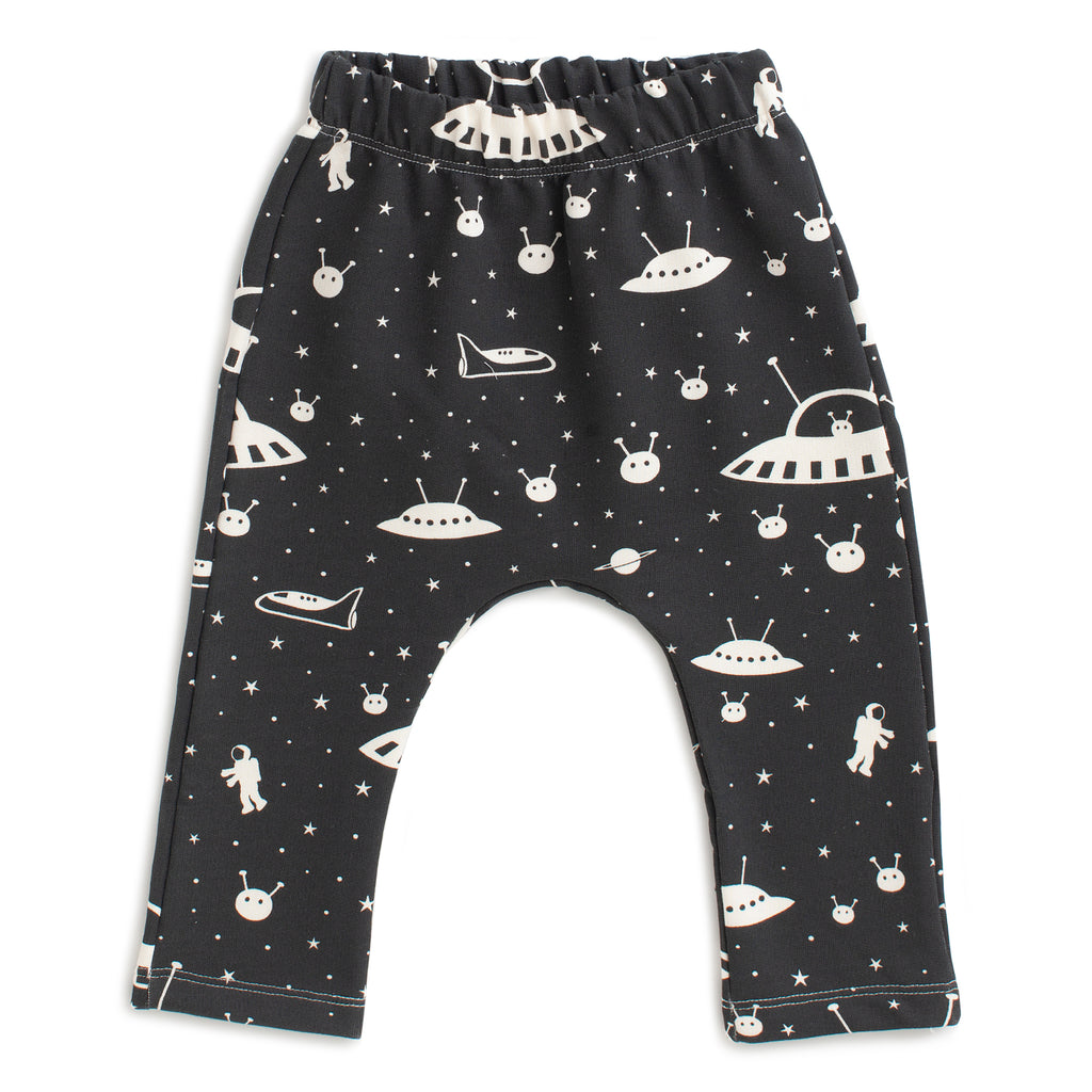 Harem Pants - Outer Space Charcoal