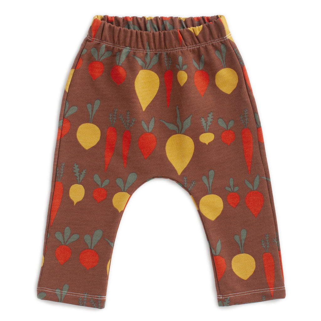 Harem Pants - Root Vegetables Chestnut