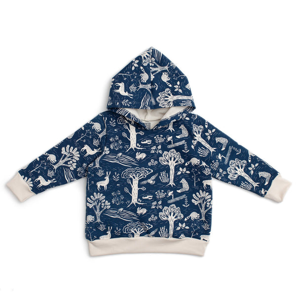 Hoodie - In The Forest Navy