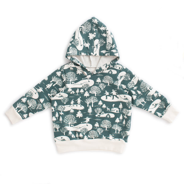 Hoodie - On The Ice Teal
