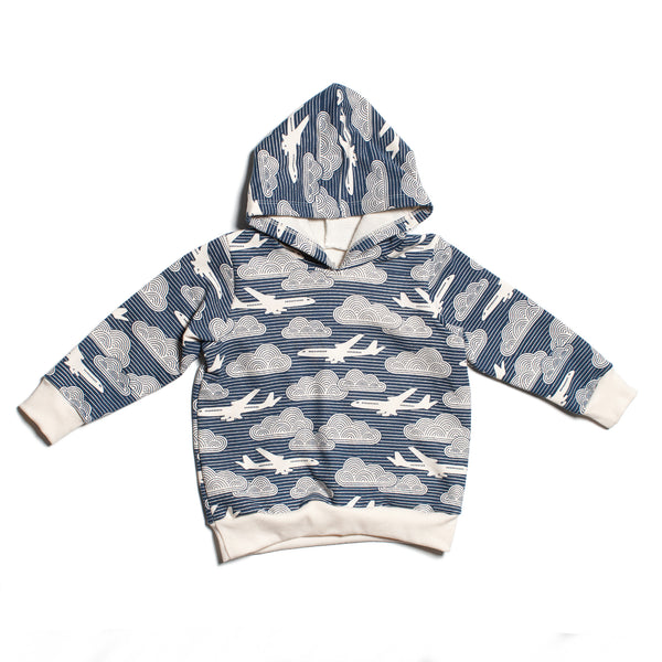 Hoodie - In the Clouds Navy