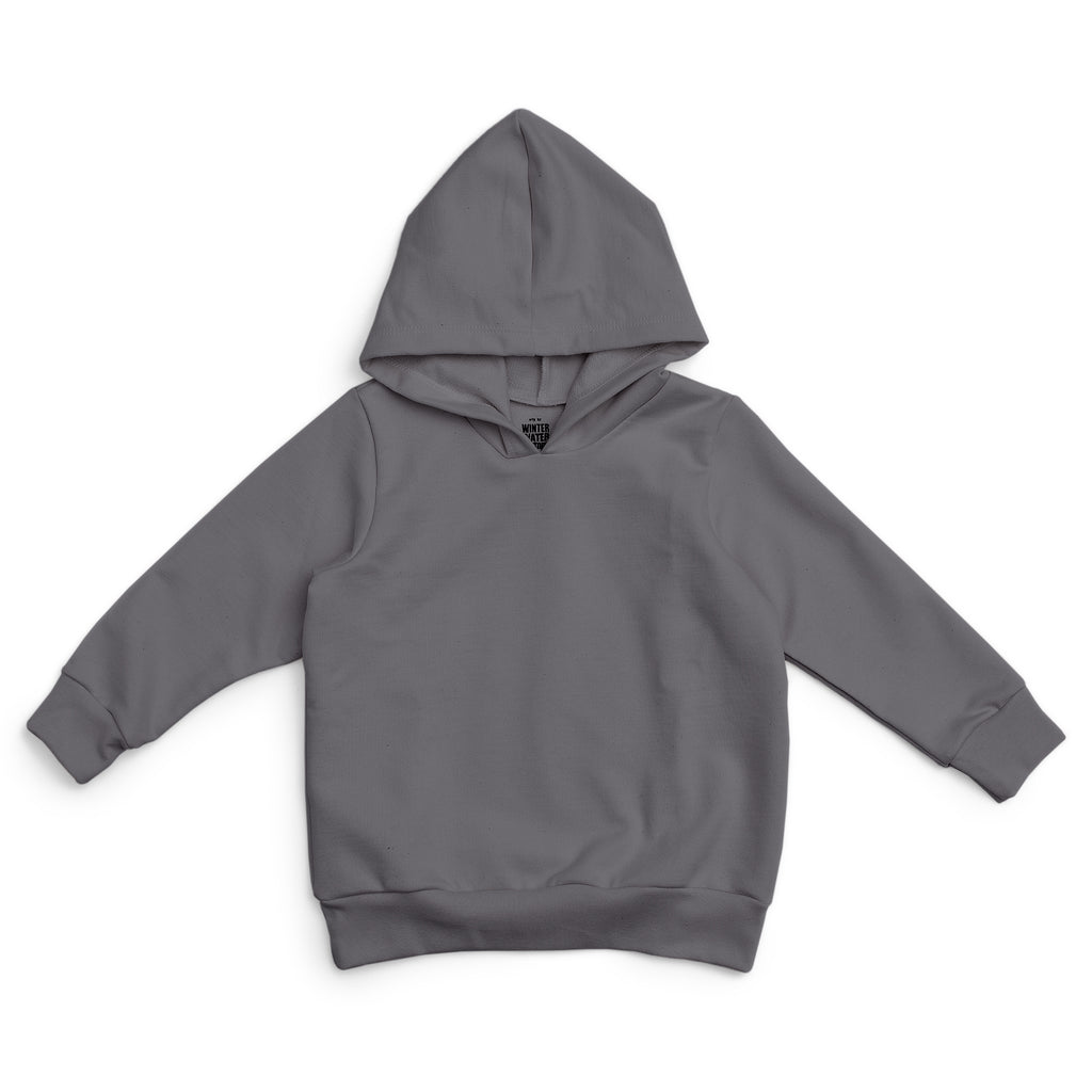 Hoodie - Solid Charcoal