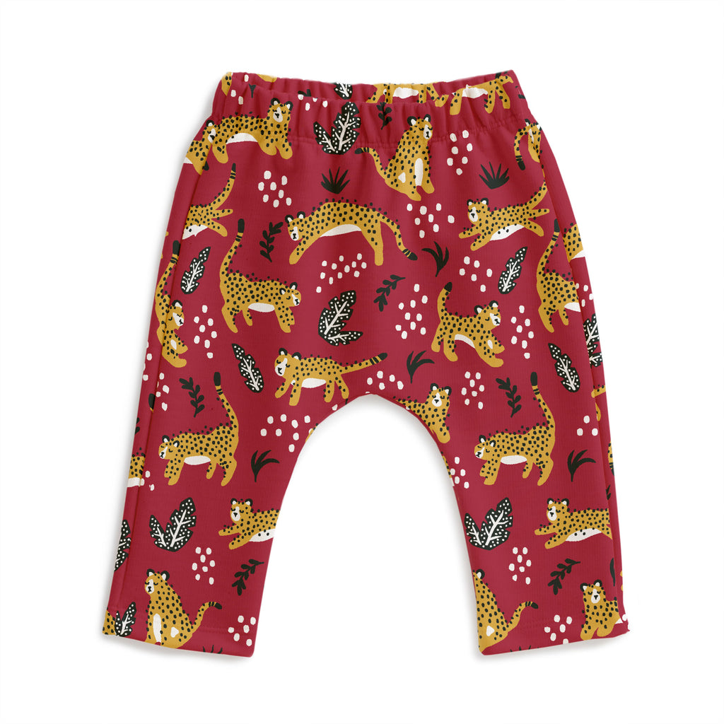 Harem Pants - Wildcats Plum