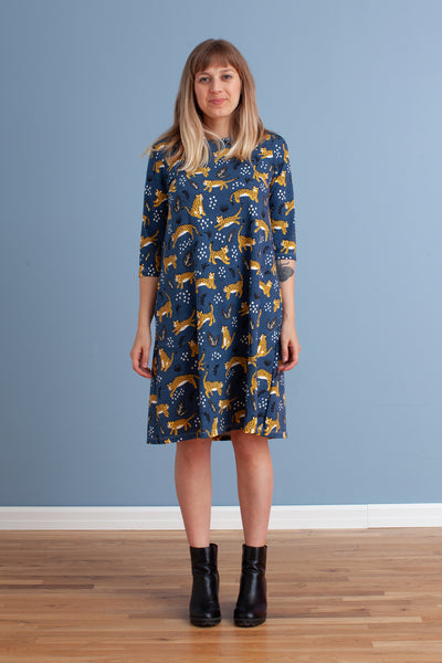 Women's Helsinki Dress - Wildcats Navy