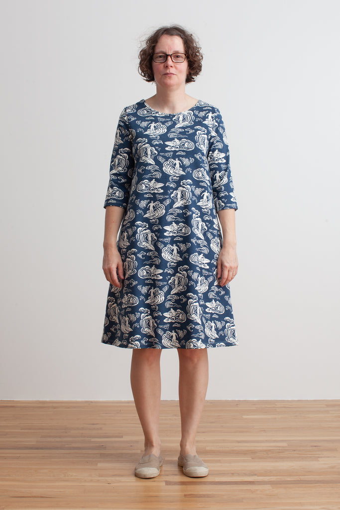 Women's Helsinki Dress - Surfers Navy