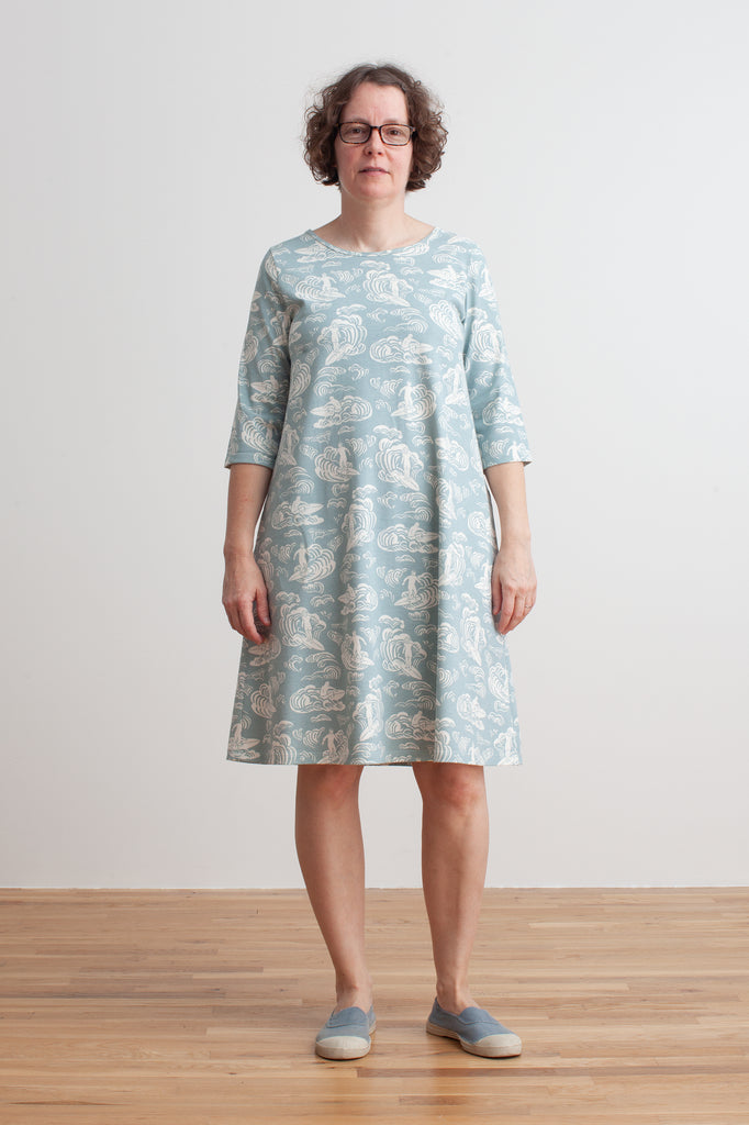 Women's Helsinki Dress - Surfers Pale Blue