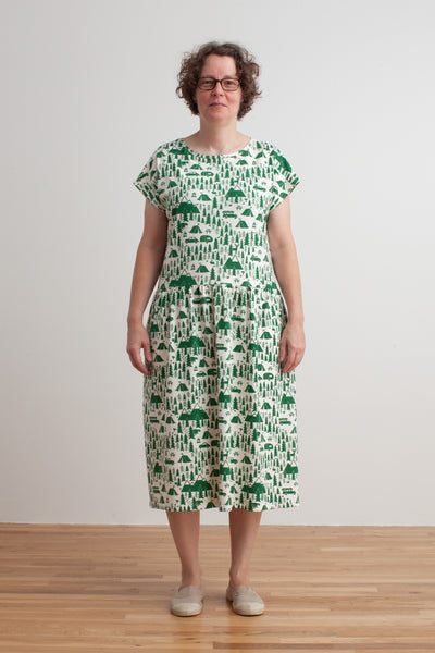 Women's Idaho Dress - Campground Green